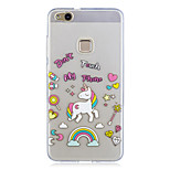 For Huawei P10 Lite P10 Case Cover Unicorn Pattern Painted High Penetration TPU Material IMD Process Soft Case Phone Case