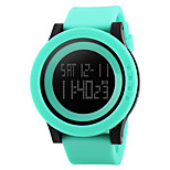 SKMEI 1142  Men's Woman Watch Outdoor Sports Multi - Function Watch Waterproof Sports Electronic Watches 50 Meters Waterproof