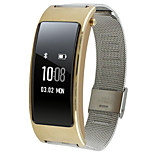 For Huawei B3 Watch Band Strap Solid color Metal Sport Band