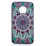 For Motorola Moto G5 Plus Case Cover Mandala Pattern Relief Back Cover Soft TPU