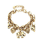 Women's Anklet/Bracelet Alloy Natural Friendship Bohemian Tan Gold Women's Jewelry For Daily Casual 1pc