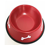 Cat Dog Bowls & Water Bottles Feeders Pet Bowls & Feeding Portable Blue Red Black