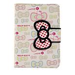 Para el ipad de la manzana air2 caja de aire portatarjetas de la cubierta con el patrón del tirón del soporte caja del cuerpo entero caja