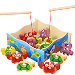 Building Blocks Fishing Toys For Gift  Building Blocks Leisure Hobby Wood 2 to 4 Years 5 to 7 Years Toys