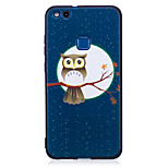For Huawei P8 Lite(2017) P9 Lite  Case Cover Owl Pattern Painted Embossed Feel TPU Soft Case Phone Case P10 Lite P10 Y5 II  Honor 6X
