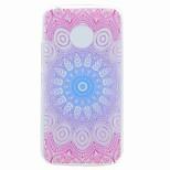 For Motorola G5 G5 Plus Case Cover Translucent Pattern Back Cover Case Mandala Soft TPU Case