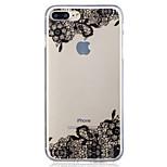 Для яблока iphone 7 7 плюс 6s 6 плюс se 5s 5 диагональных цветочных паттернов окрашены высокой проникающей tpu материал imd процесс мягкий