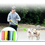 2.5cm Double Headed Pet Cat Dog Traction Rope Set Faashion Dog Harness Cat Leash Double Head Pet Collar