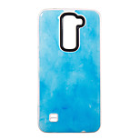 For LG K7 Case Cover Classic Marble Pattern Pattern PC TPU Combo Drop Phone Case