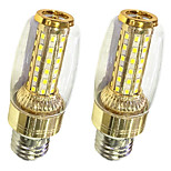 2PCS E27 9W LED Corn Lights T 58 SMD 2835 600-700 lm Warm White /White 220V