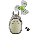 In 2017 The New USB Charging Totoro Cartoon Mini Mute Handheld Small Fan