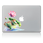 For MacBook Air 11 13/Pro13 15/Pro With Retina13 15/MacBook12 Lotus Decorative Skin Sticker