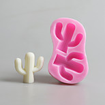 Cactus Pattern  Candy Fondant Cake Molds  For The Kitchen Baking Molds
