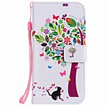 For Huawei P10 Plus P10 Lite Case Cover Card Holder Wallet with Stand Flip Pattern Full Body Case Tree Hard PU Leather P10 P8 lite 2017 P9 lite Mate 9