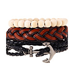New National Wind Anchor Bead Beaded Multilayer Woven Bracelet