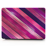 For MacBook Air 11 13 Pro 13 15 Case Cover Polycarbonate Material Stripes Wood Grain