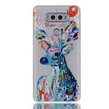 For LG G6 V20 Glow in the Dark / Translucent Case Back Cover Case Deer Soft TPU LG X Screen K5 K7 K8 K10 G5