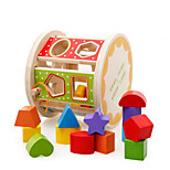 Building Blocks Pegged Puzzles For Gift  Building Blocks Wooden 3-6 years old Toys