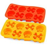 1 Piece Mold For Ice Silicone DIY(Random Color)