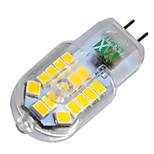 YWXLight® G4 3W 30 LED 2835 SMD 200-300 Lm Warm White Cool White Natural White LED Bi-Pin Lights AC 220-240 V  1 pcs