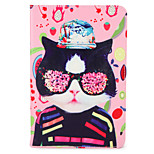 For Apple iPad (2017) Pro 9.7'' Case Cover with Stand Flip Pattern Full Body Case Cat Fruit Hard PU Leather  Air 2 Air ipad2 3 4 mini1 2 3/4