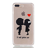 For iPhone 7Plus 7 TPU Material Child Pattern Relief Phone Case 6s Plus 6Plus 6S 6 SE 5s 5