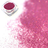 0.2g/bottle Fashion Sweet Style Purple Red DIY Charm Nail Art Laser Glitter Holographic Fine Powder Shining Pigment Decoration JX17