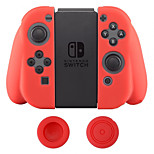 Spot Dustproof Soft Gel Silicone Case Cover Thumbsticks Caps for Switch