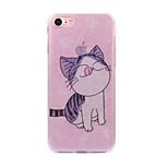 iPhone 7 7plus tapauksessa poukamassa kissa kuvio flash-jauhe IMD prosessi TPU-materiaali puhelimen tapauksessa iphone 6 6s ja se 5s 5