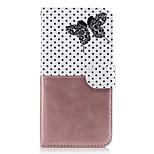 Для xiaomi redmi примечание 3 3s чехол чехол карта держатель кошелек с подставкой флип-узор полный корпус корпус бабочка твердая кожа pu