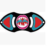 Спиннеры от стресса Ручной обтекатель Волчок Игрушки Игрушки Tri-Spinner Два спиннера Кольцо Spinner Прядильщик Игрушки Пластик EDCСтресс