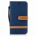 For Motorola G5 Plus G5 Case Cover Card Holder Wallet with Stand Flip Magnetic Full Body Case Color Blocks Hard Textile for Motorola G4 Plus G4