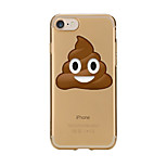 Für Hüllen Cover Transparent Muster Rückseitenabdeckung Hülle Cartoon Design Weich TPU für AppleiPhone 7 plus iPhone 7 iPhone 6s Plus
