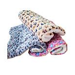 Cat Dog Bed Pet Mats & Pads Stars Keep Warm Foldable Soft Durable Yellow Blue Blushing Pink