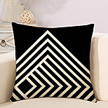 1 Pcs Black And White Grid Stripe Pattern Pillow Cover Classic Cushion Cover Pillowcase