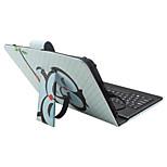 Назначение Чехлы панели со стендом с клавиатурой Флип С узором Чехол Кейс для Мультипликация Сова Твердый Искусственная кожа дляApple