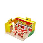 Jigsaw Puzzles 3D Puzzles Building Blocks DIY Toys House Wooden
