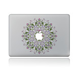 1 pieza Anti-Arañazos Flores/Botánica De Plástico Transparente Adhesivo Diseño ParaMacBook Pro 15'' with Retina MacBook Pro 15 '' MacBook
