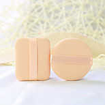 Velvet Powder Box With Box Round Small Powder