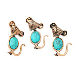 Women's Brooches Friendship Euramerican Sideways Alloy Jewelry 147 Wedding Party Event/Party