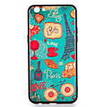 For OPPO R9s  R9s Plus Case Cover Pattern Back Cover Case Eiffel Tower Hard PC R9 R9 Plus