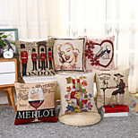 1 Pcs London Marilyn Monroe Pillow Cover Fashion Cotton/Linen Pillow Case