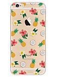 Le téléphone portable peint en tpu protège la coquille douce pour la série iphone