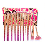 20 Pcs Eye Shadow Yayasan Alis Lip Brush Makeup Brushes Pinceis De Maquiagem Alat