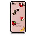 Geval voor apple iphone 7 7 plus iphone 6s 6 plus case bedek het fruit patroon met acryl gevallen
