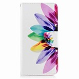 For Huawei P10 Plus P10 Lite Case Cover Card Holder Wallet with Stand Flip Pattern Case Full Body Case Flower Hard PU Leather