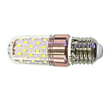 E27 9W LED Corn Lights 60 SMD 2835 600-680 lm Warm White /White  220V
