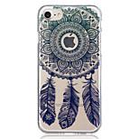 Pour apple iphone 7 plus 7 capteur de rêve cas de motif translucide cas de couverture arrière doux tpu pour iphone 6s plus 6 plus 6s 6 5