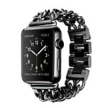 Metal Band for Apple Watch Band 38mm / 42mm Stainless Steel iWatch Band with Flexible Chains Style Bracelet Strap