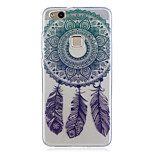 For Huawei P10 Lite P10 Case Cover Wind Chimes Pattern Painted High Penetration TPU Material IMD Process Soft Case Phone Case